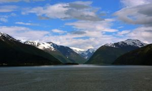 Sailing the fjords to Skjolden 32 by abelamario