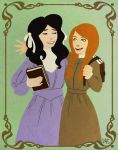 Anne Shirley and Diana Barry by endoftheline