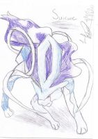Suicune by WickedOreo