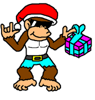Christmas Collab - Funky Kong by Admin2845