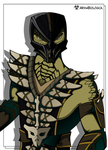 Reptile colored by ArmaBiologica
