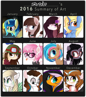 2016 Summary of Art by sevedie