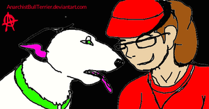 Jenklin and Me by JenklinBullTerrier
