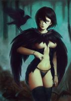 crow by itori