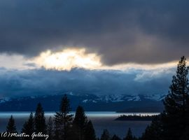 Stormy Lake Tahoe Sunset 141203-2 by MartinGollery