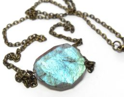 Enchanted Mirror Necklace by sojourncuriosities