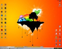 My desktop As we all know it.. by SoulDrive