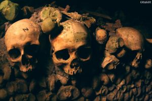 Catacombes de Paris 1 by CRUELGERM