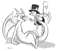 Dragon and Son by Ribnose