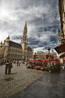 La Grand-Place by DeeMaaH