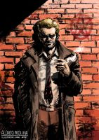 John Constantine fan art by alonsomolina1985