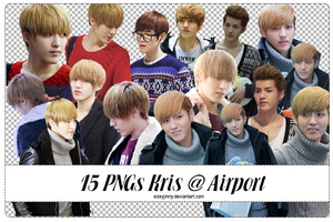 Pack 15 PNGs KRIS by SickyJinny