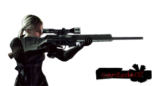Jill Battlesuit Render by Canzeda