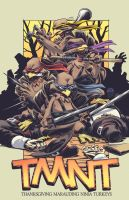 TMNT Thanksgiving 2012 by EryckWebbGraphics