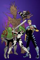 Guardians Colored by Blenia
