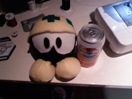 Met Plushie - Megaman by whiskers