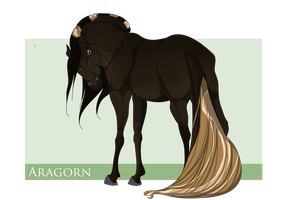 SOLD 6528 Aragorn by Scutterland