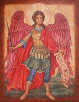 Saint Michael the Archangel by Victoria-Poloniae