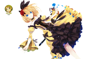 || Vocaloid Render || Kagamine Rin || by Izza-chan
