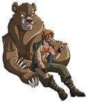 ER: A Man and his Cave Bear by Oniwanbashu