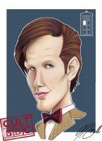 The Doctor caricature by tombirrellart