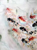 Chinese Lucky Fish by chinesepaintings
