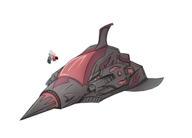 Another spaceship concept by Titanisco
