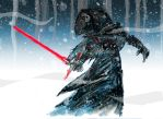 Kylo Ren by memorypalace