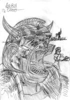 Orc warrior by Kelo821