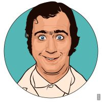 Andy Kaufman by monsteroftheid