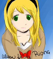Riona Speed Paint by NostalgicHummingbird