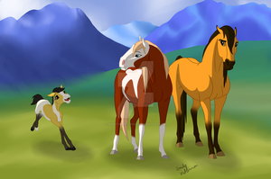 The Cimarron Family by Nightmare-Curse