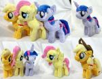 AppleJack Twilight and Fluttershy Fillies! by Cryptic-Enigma