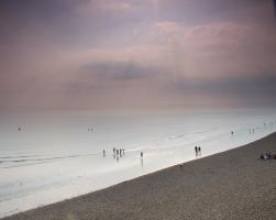 brighton beachfront, UK by yalsaibie
