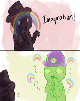 Imagination!? by RetroTrickster