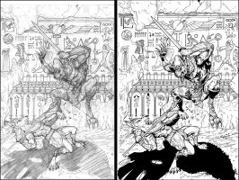 CORNERSTONE 2 Pencils to Inks by Cadre