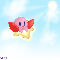 Kirby by Celebi-Kitty