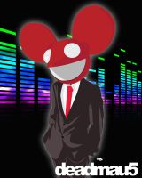 deadmau5 is all suited up. by 8bitgangster