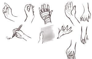 Hand Practice by solcastle