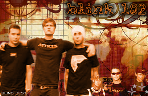 Blink 182 by blindedruins