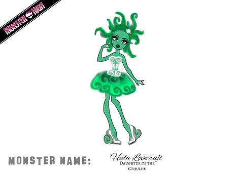 Hula Lovecraft by ms-oblivious