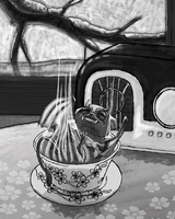 Monster Tea Dreams by Agent-Jolliday