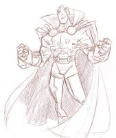 Mister Miracle by DanSchoening