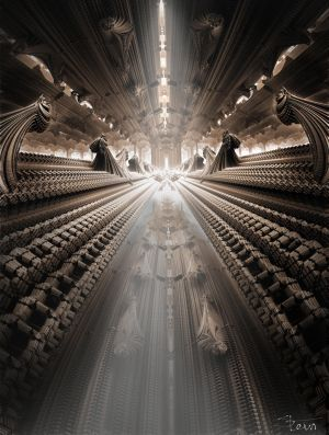 The Big Hall Of Cocoons by SteinTSkavaas