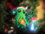 Cthulhu Christmas Ornament #2 by Euphyley