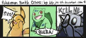 Pokemon Battle Cries by Joz-yyh