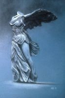 Winged Victory of Samothrace by mnsrc