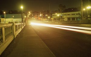 Night Motion Blur WP by 17thletter