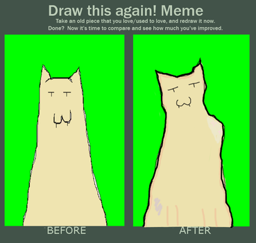 Meme: Before and after by KISMOO