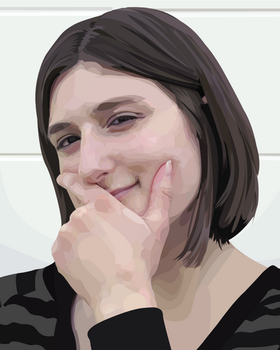 Vector Portrait by Annie-sama
